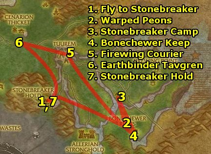 Terokkar Forest quest guide