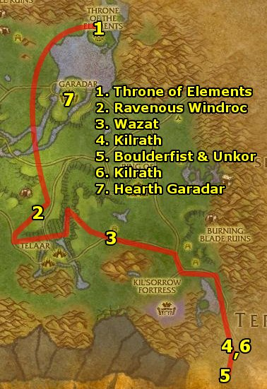 Nagrand quest guide