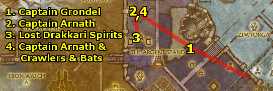 how to get to zul drak from orgrimmar